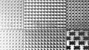 特殊エンボス 銀 パターンA